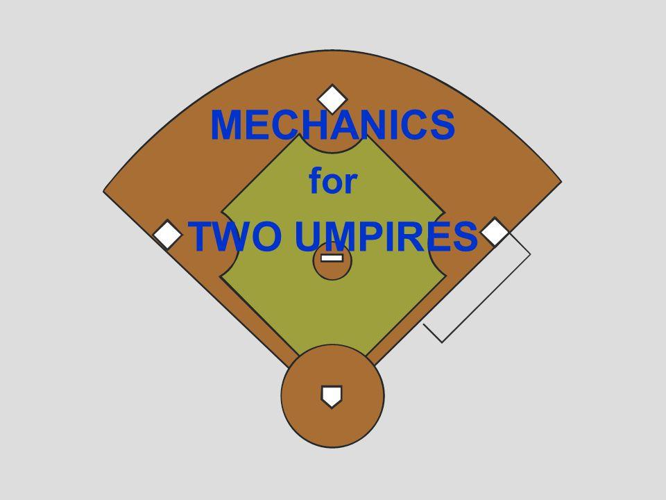 MECHANICS for TWO UMPIRES