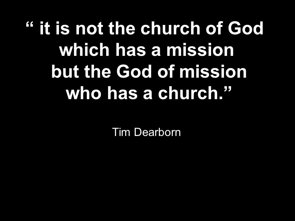 it is not the church of God