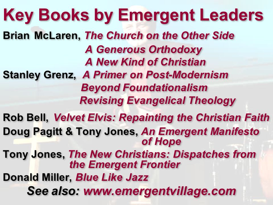 Key Books by Emergent Leaders