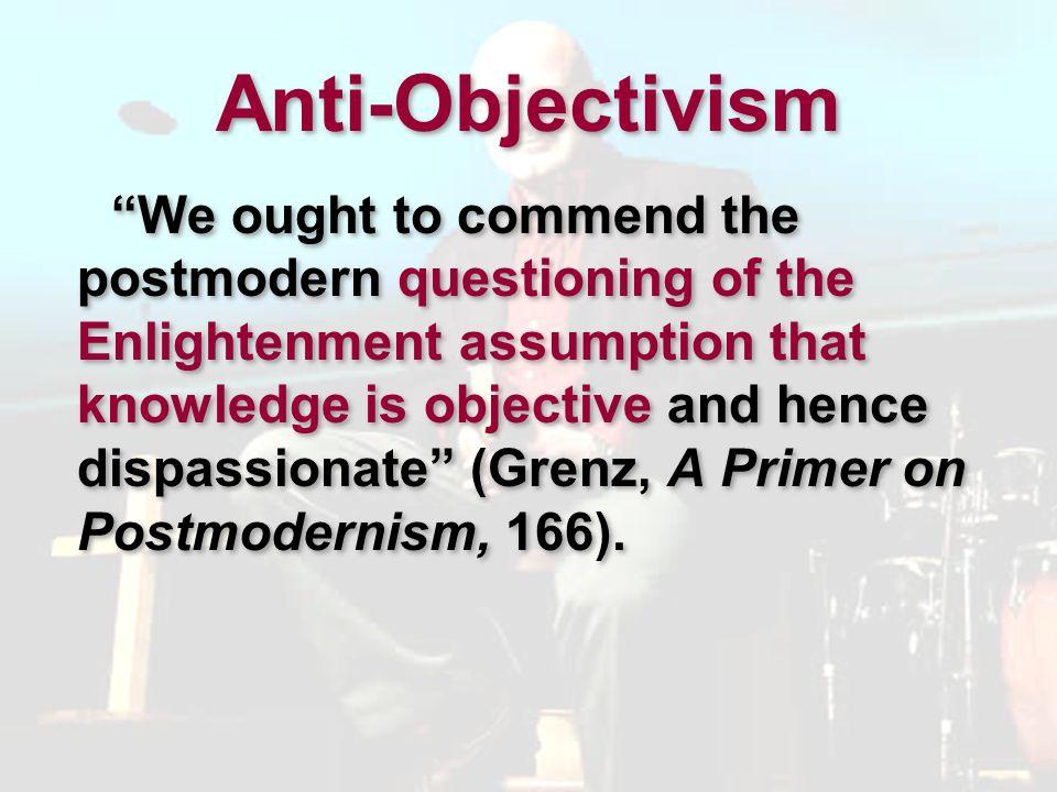 Anti-Objectivism