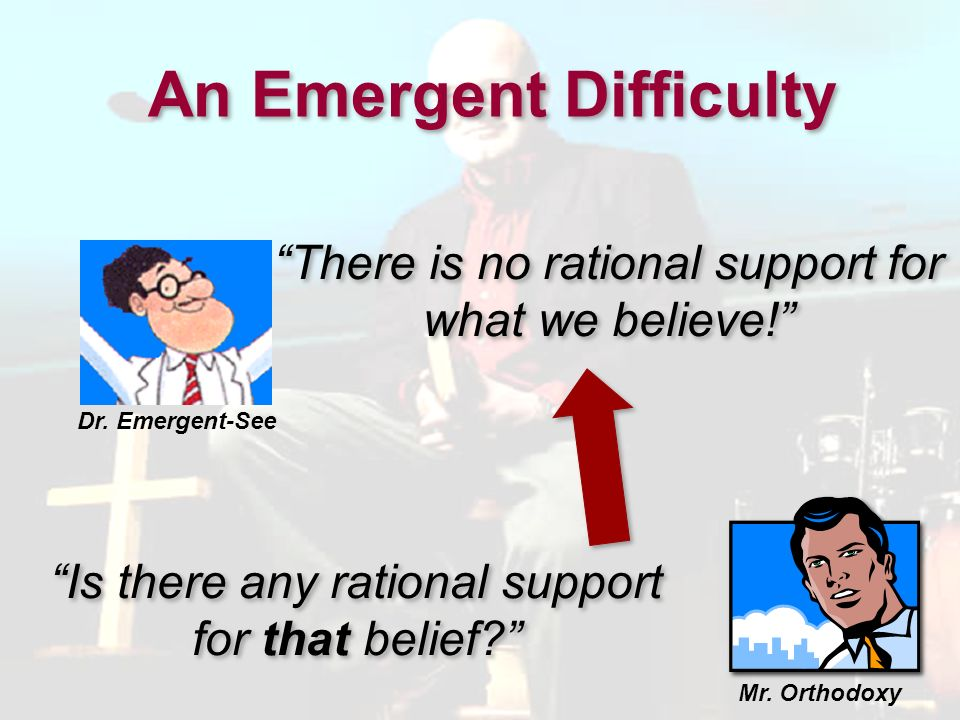 An Emergent Difficulty
