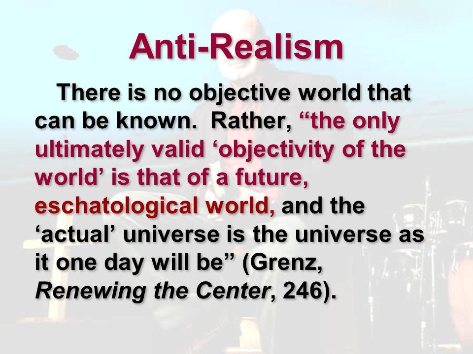 Anti-Realism
