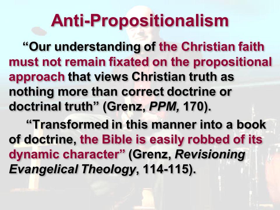 Anti-Propositionalism