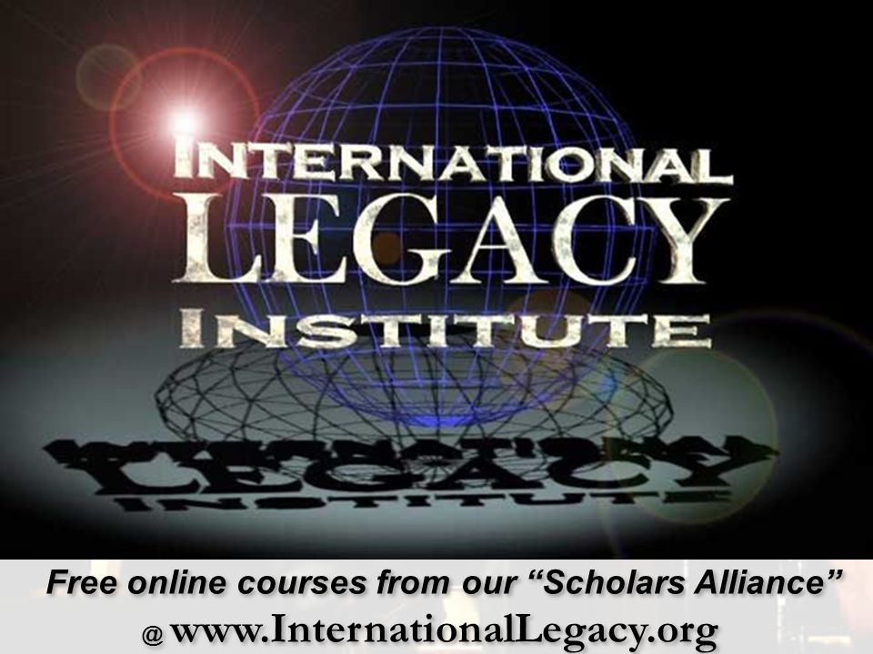 Free online courses from our Scholars Alliance @ www