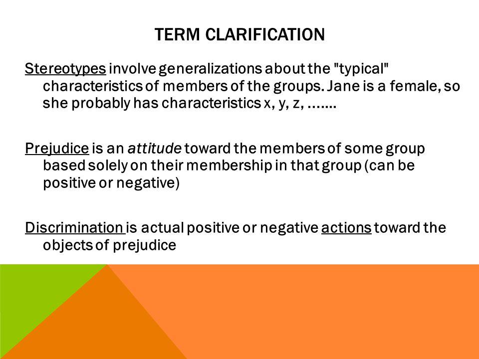 Term clarification