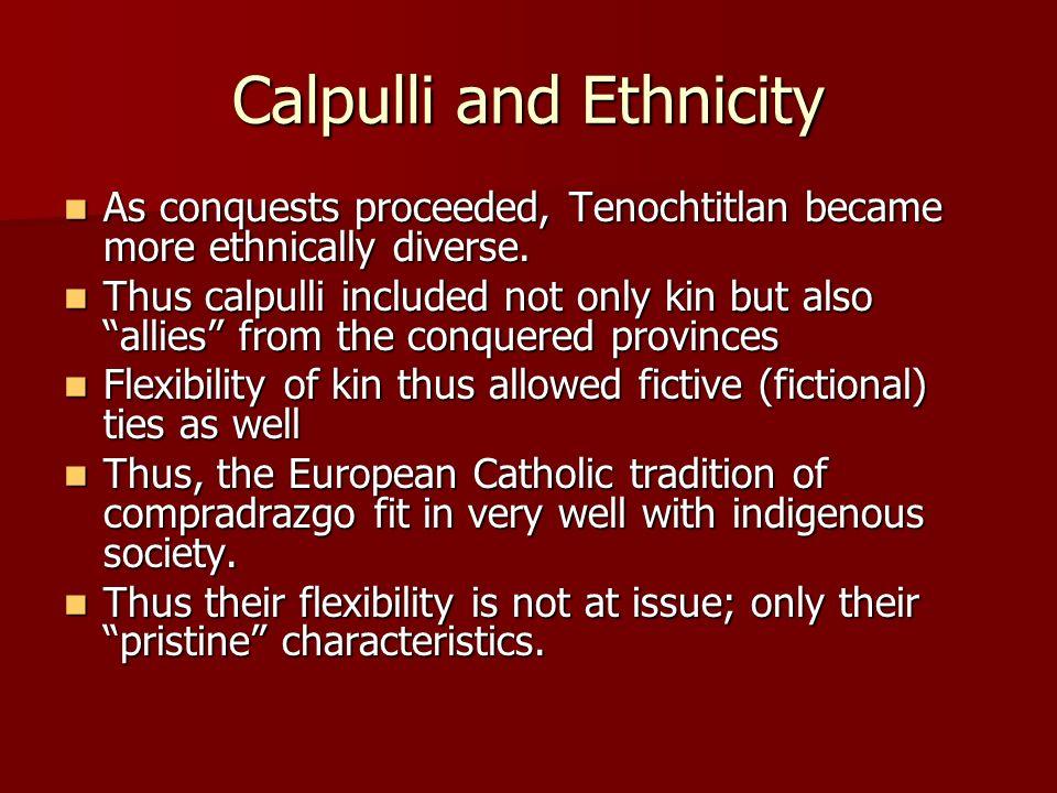 Calpulli and Ethnicity