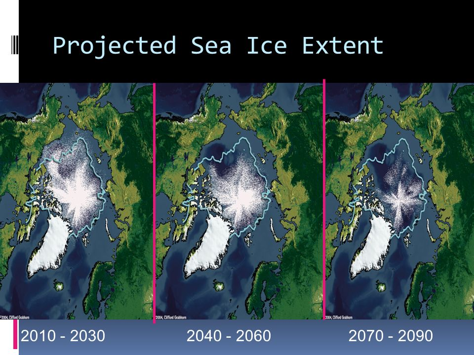 Projected Sea Ice Extent