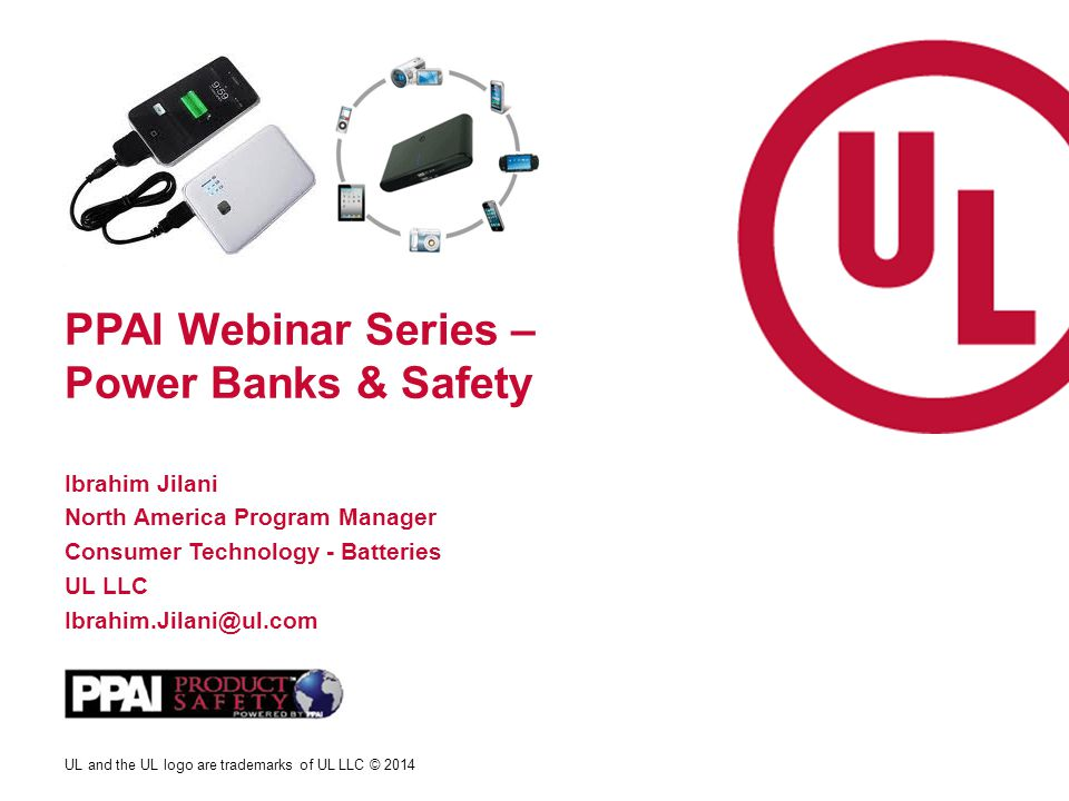 PPAI Webinar Series – Power Banks & Safety