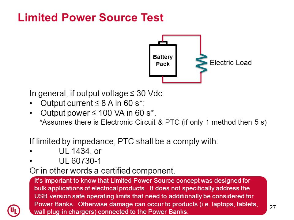 Limited Power Source Test