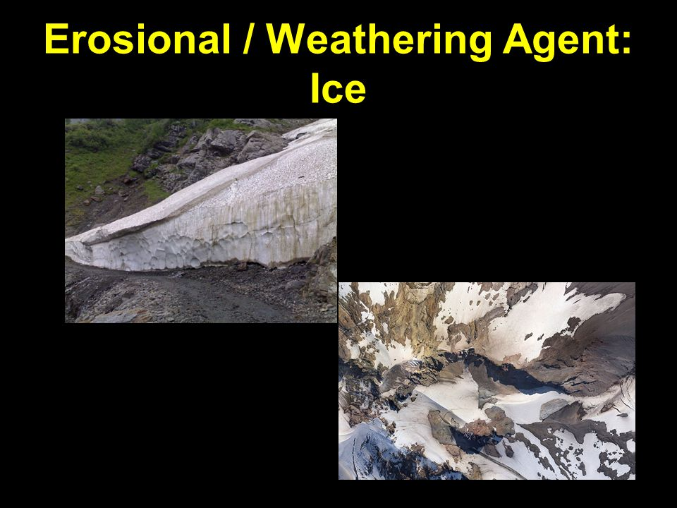 Erosional / Weathering Agent: Ice