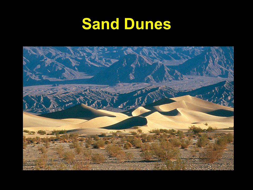 Sand Dunes Death Valley, California