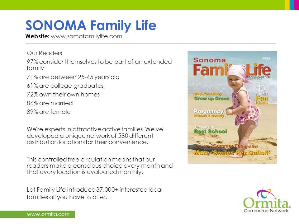 SONOMA Family Life Website: www.somafamilylife.com