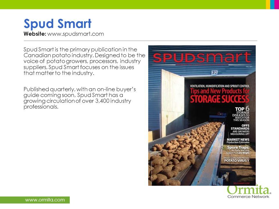 Spud Smart Website: www.spudsmart.com