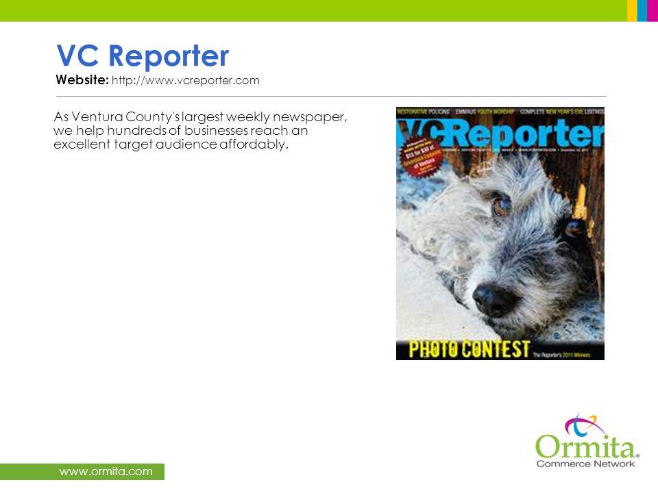 VC Reporter Website: http://www.vcreporter.com