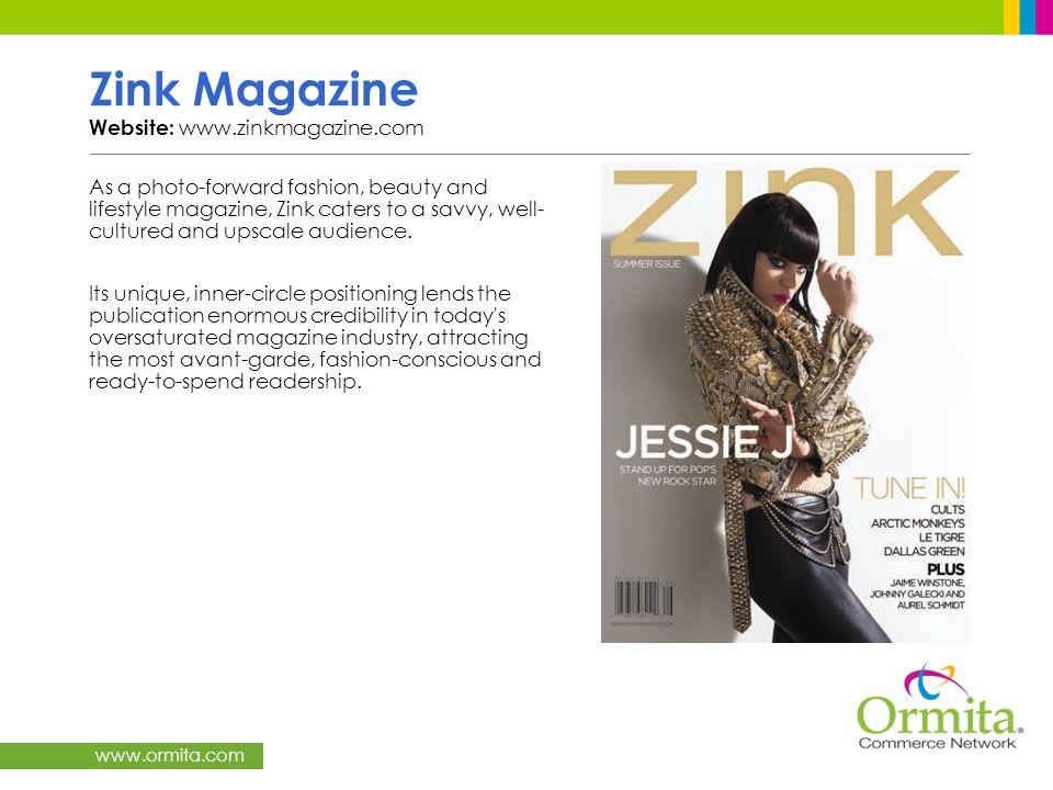 Zink Magazine Website: www.zinkmagazine.com