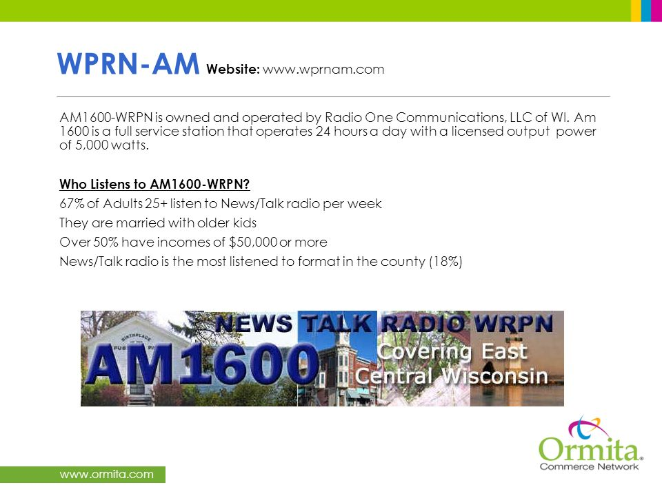 WPRN-AM Website: www.wprnam.com