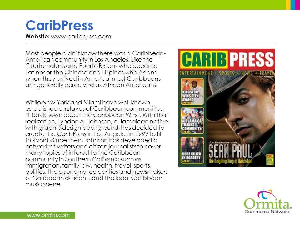 CaribPress Website: www.caribpress.com