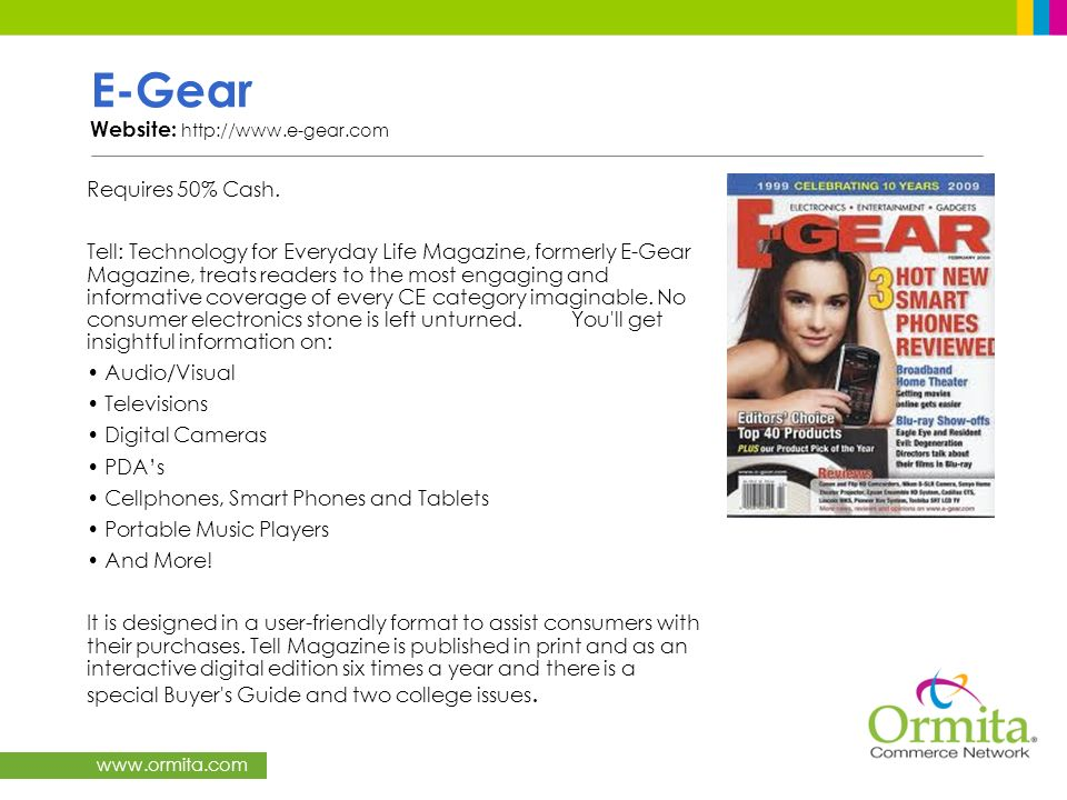 E-Gear Website: http://www.e-gear.com
