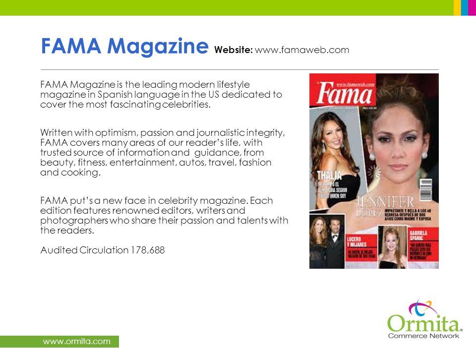 FAMA Magazine Website: www.famaweb.com