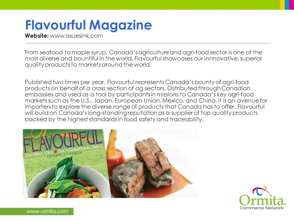 Flavourful Magazine Website: www.issuesink.com
