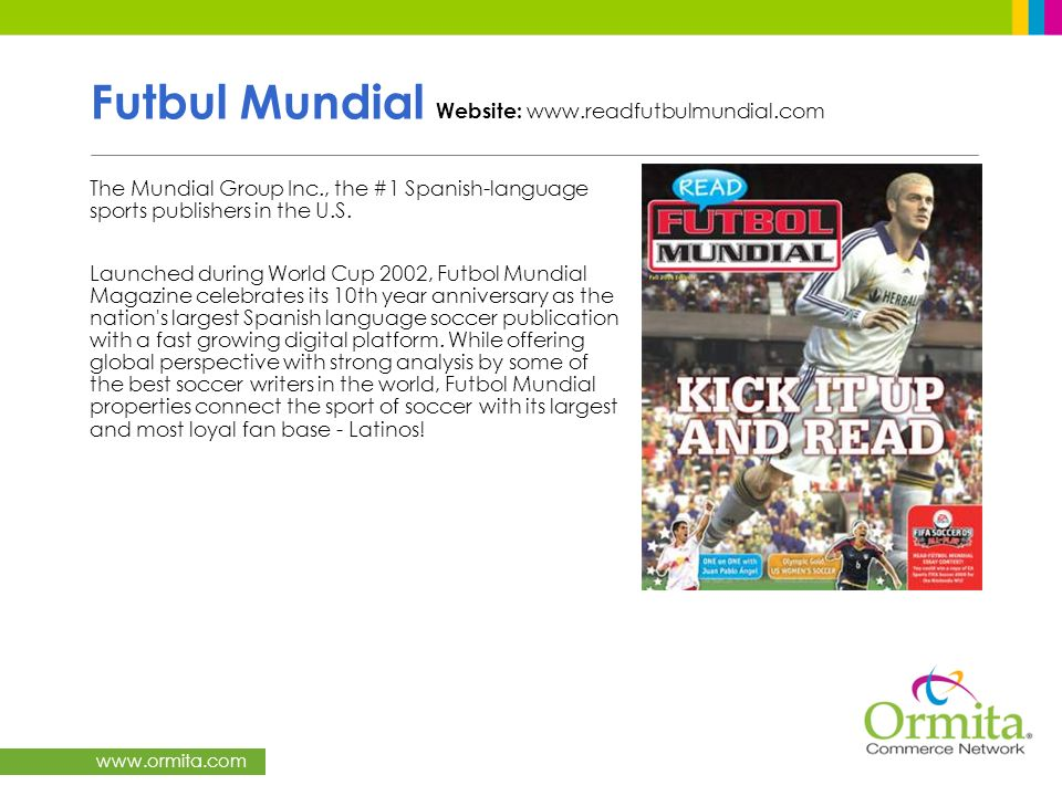 Futbul Mundial Website: www.readfutbulmundial.com