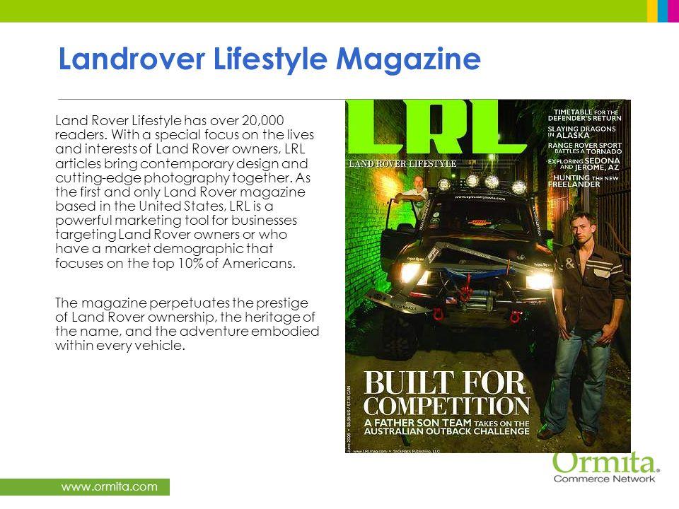 Landrover Lifestyle Magazine
