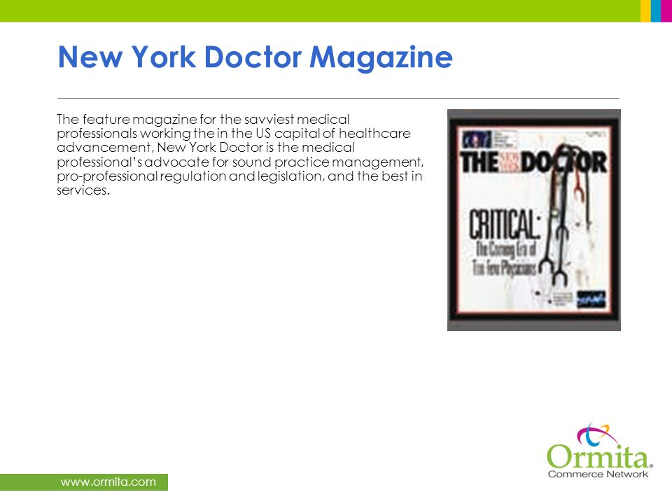 New York Doctor Magazine