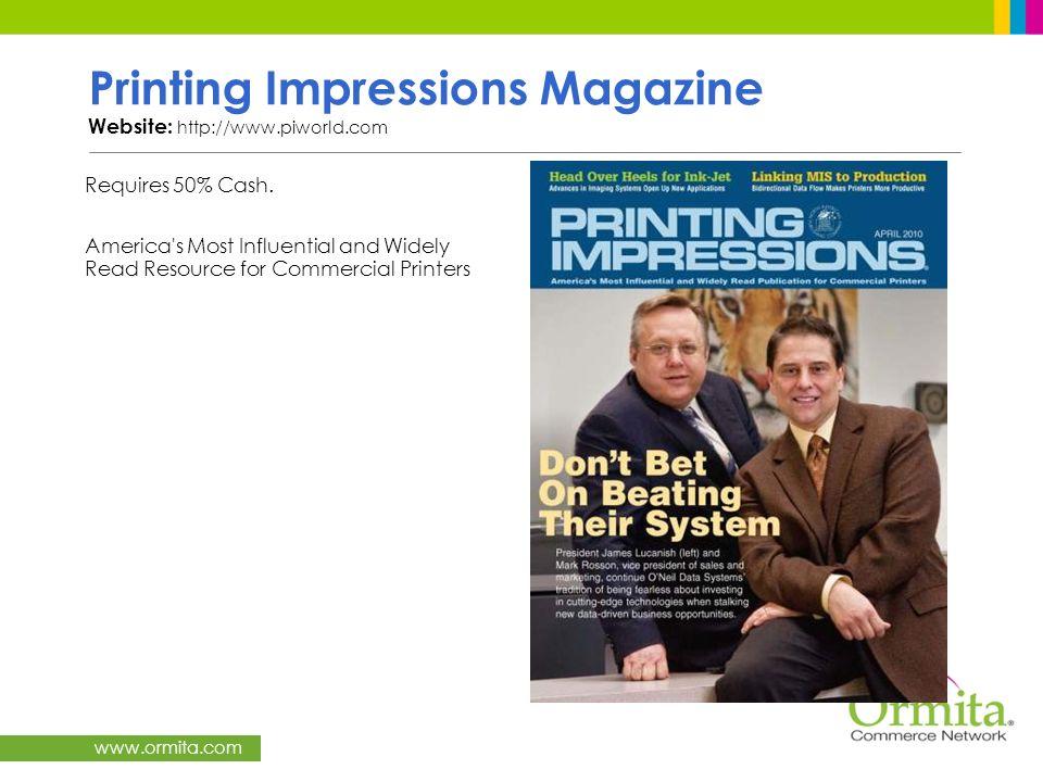 Printing Impressions Magazine Website: http://www.piworld.com