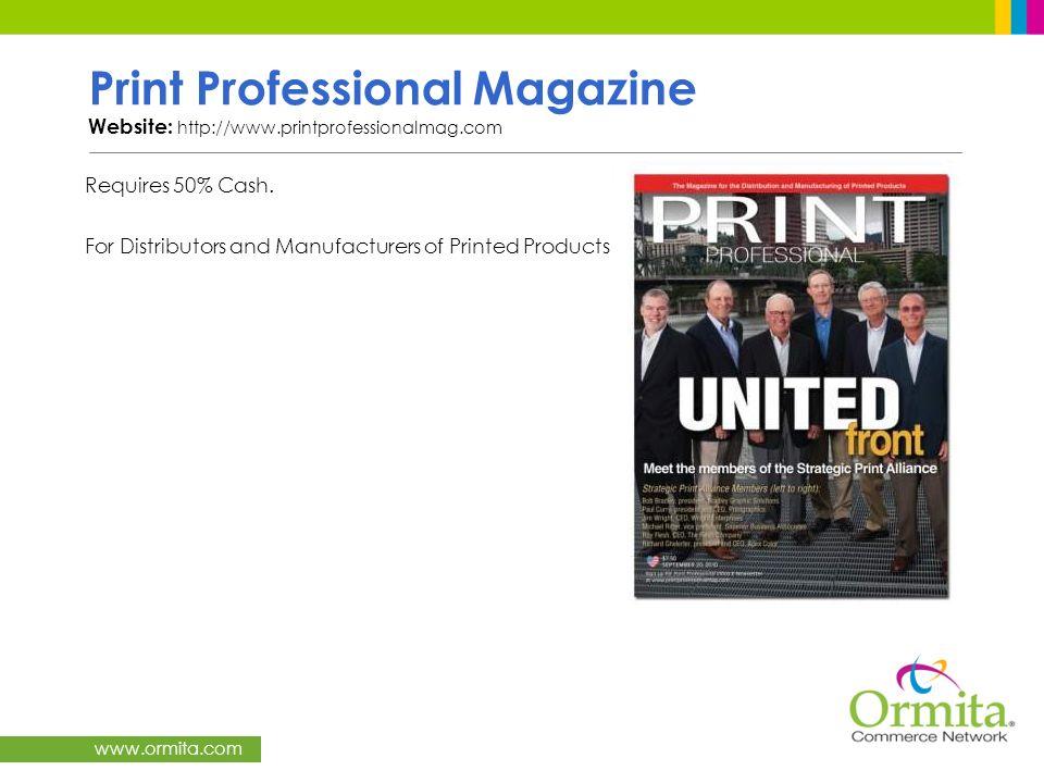 Print Professional Magazine Website: http://www. printprofessionalmag