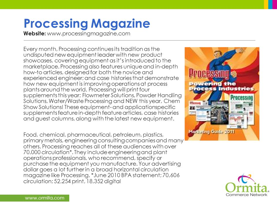 Processing Magazine Website: www.processingmagazine.com