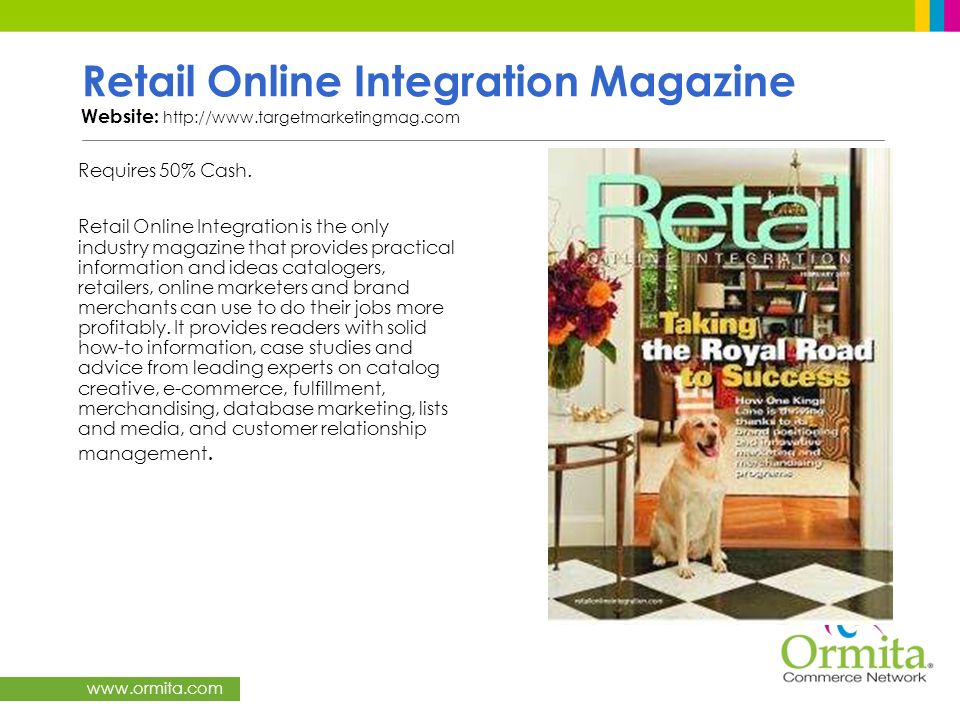 Retail Online Integration Magazine Website: http://www