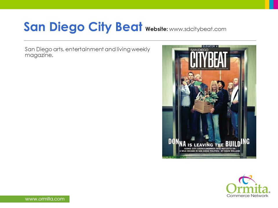 San Diego City Beat Website: www.sdcitybeat.com