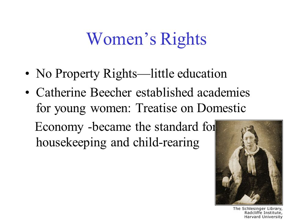 Women's Rights No Property Rights—little education