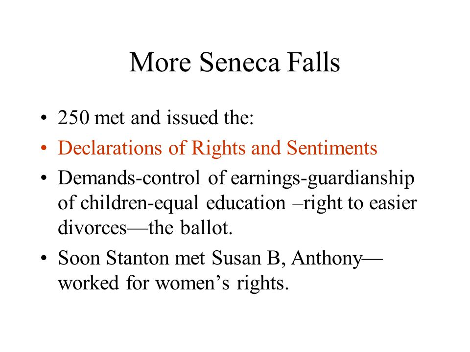 More Seneca Falls 250 met and issued the: