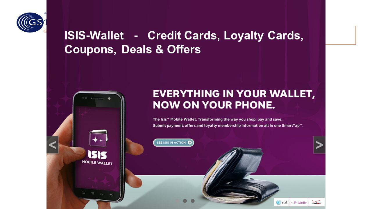 ISIS-Wallet - Credit Cards, Loyalty Cards, Coupons, Deals & Offers