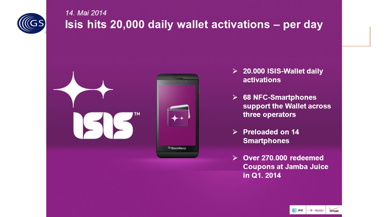 Isis hits 20,000 daily wallet activations – per day