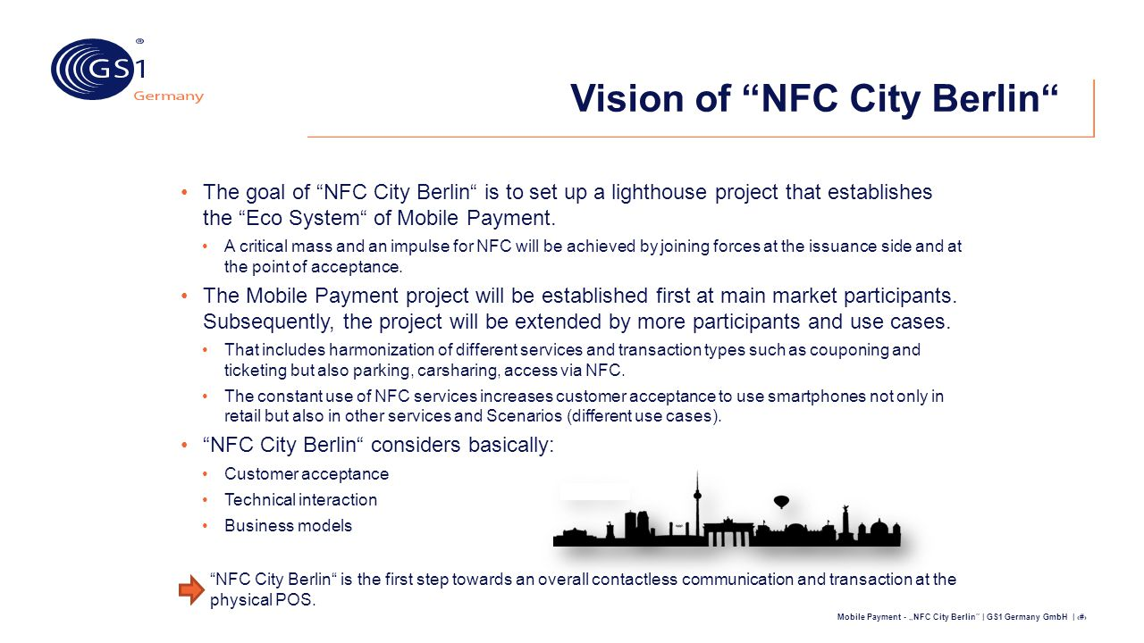 Vision of NFC City Berlin