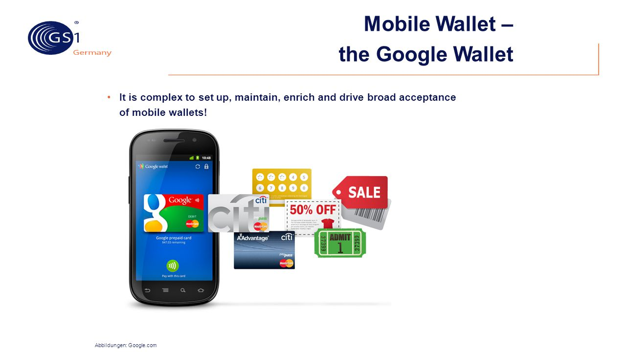 Mobile Wallet – the Google Wallet