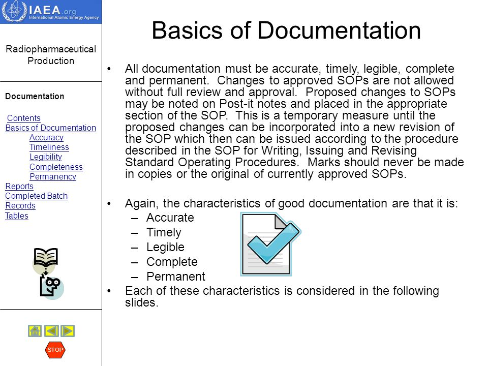 Basics of Documentation