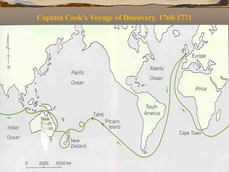Captain Cook's Voyage of Discovery, 1768-1771
