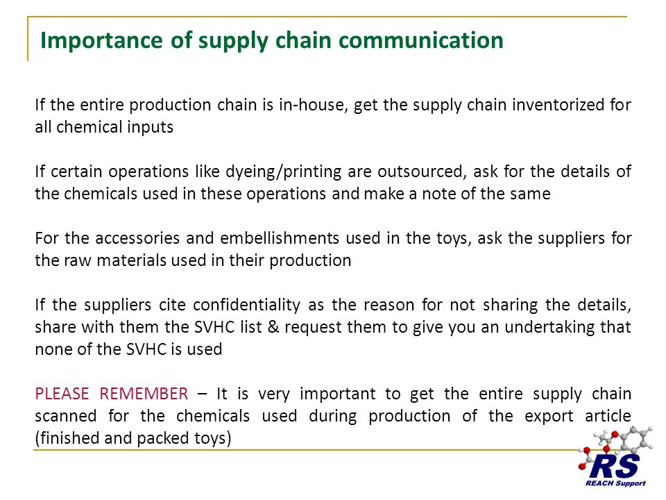 Importance of supply chain communication