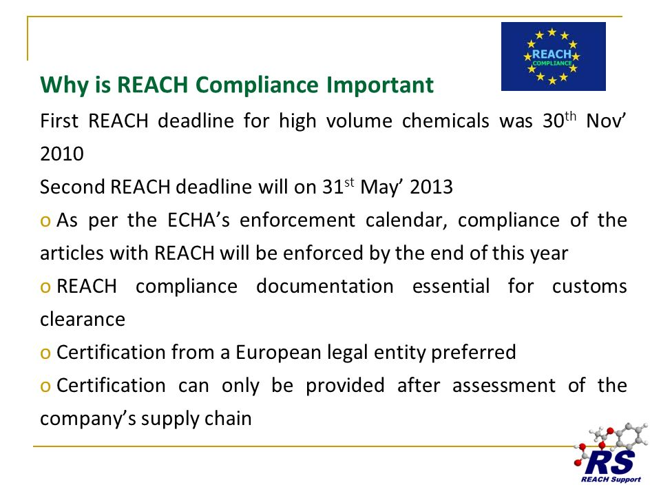 Why is REACH Compliance Important