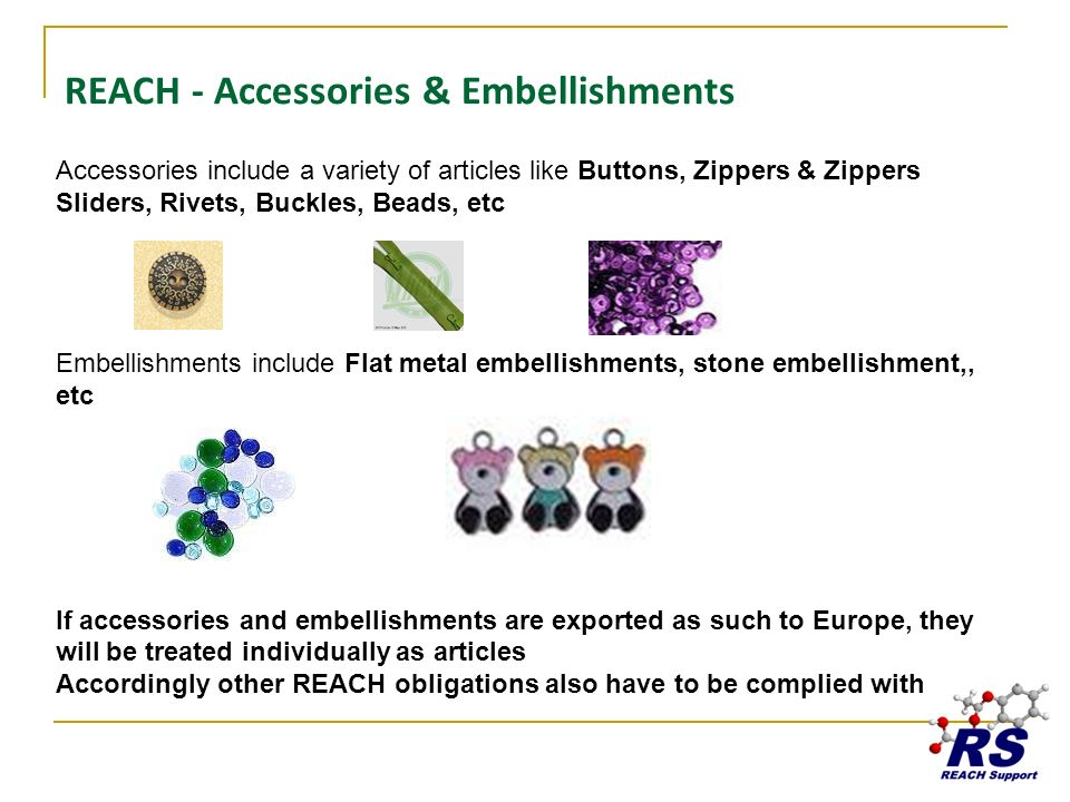 REACH - Accessories & Embellishments