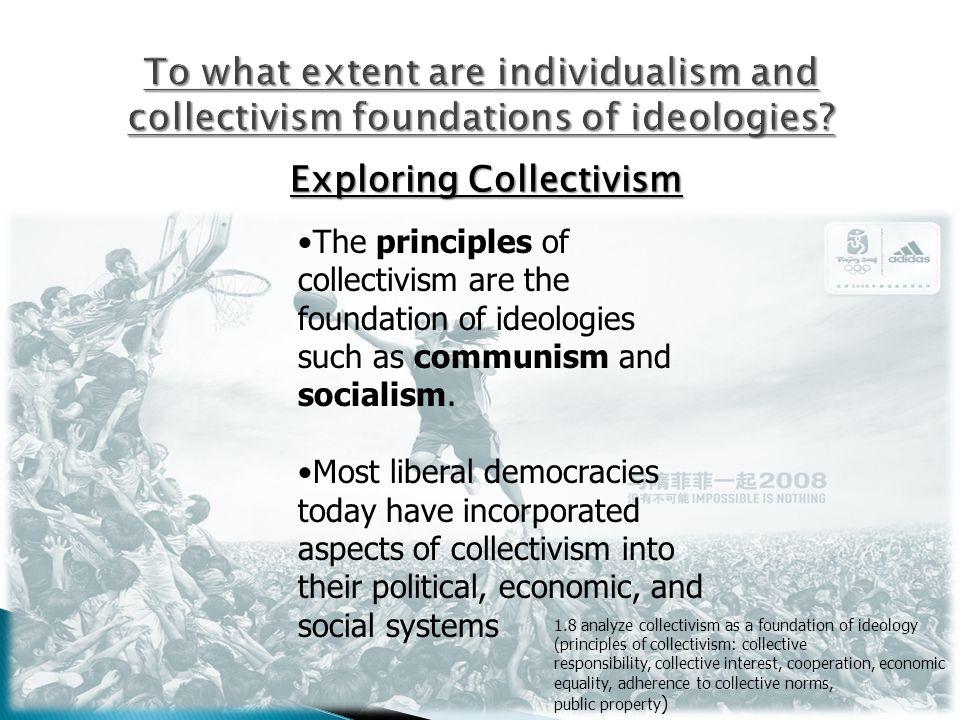 Exploring Collectivism