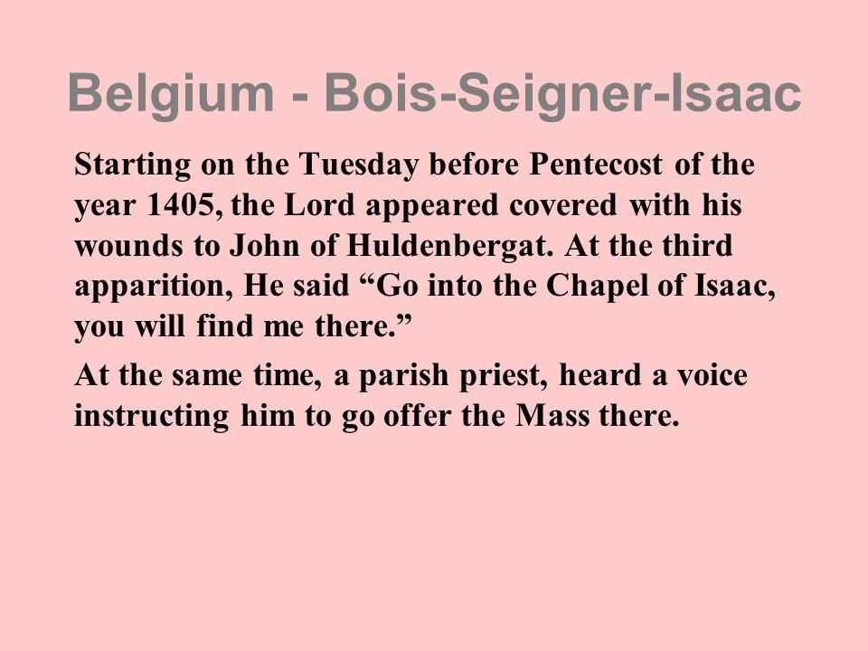 Belgium - Bois-Seigner-Isaac