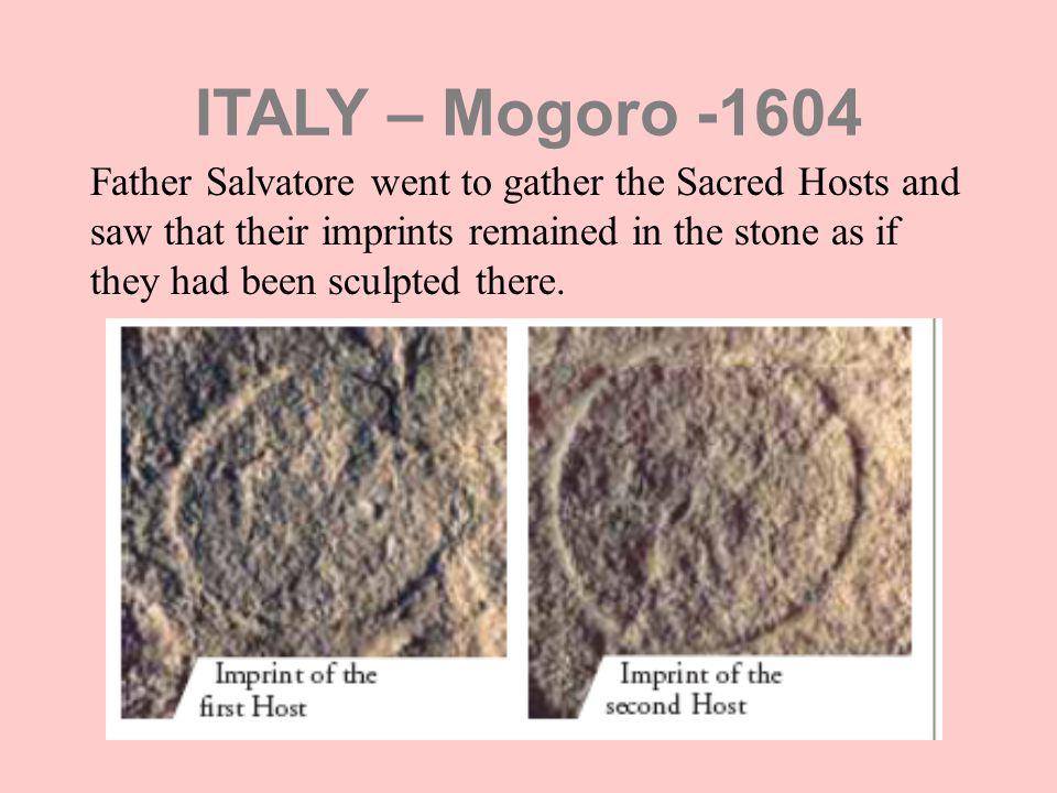 ITALY – Mogoro -1604