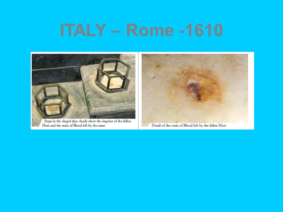 ITALY – Rome -1610