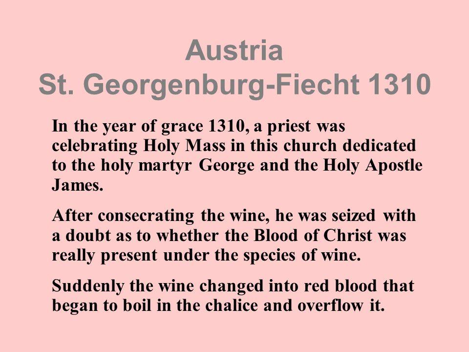Austria St. Georgenburg-Fiecht 1310