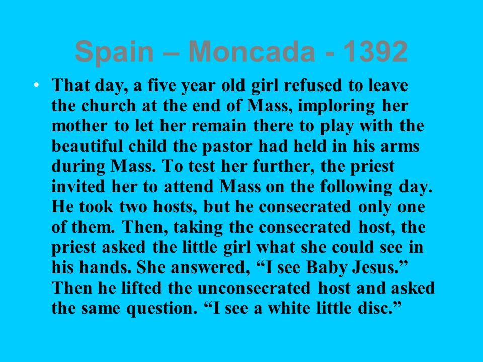 Spain – Moncada - 1392