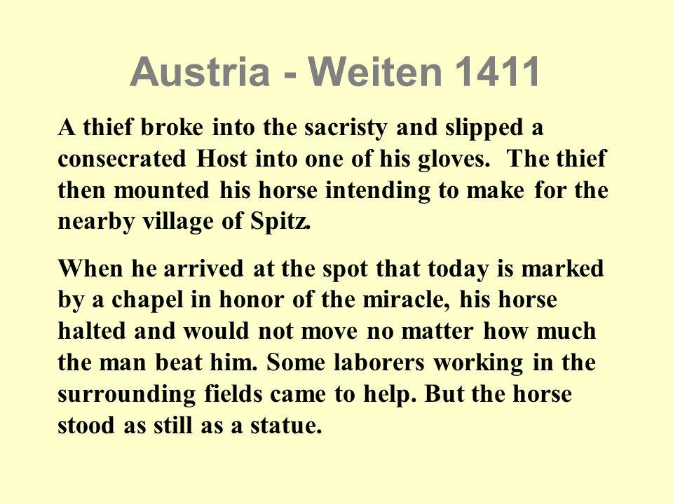 Austria - Weiten 1411
